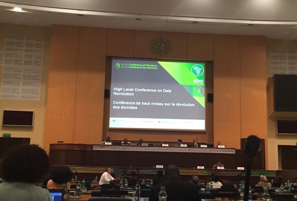 The High Level Conference on the Data Revolution was held in Addis Ababa, Ethiopia in March 2015. The meeting adopted the African Data Consensus which calls for greater engagement between government and non-state actors.